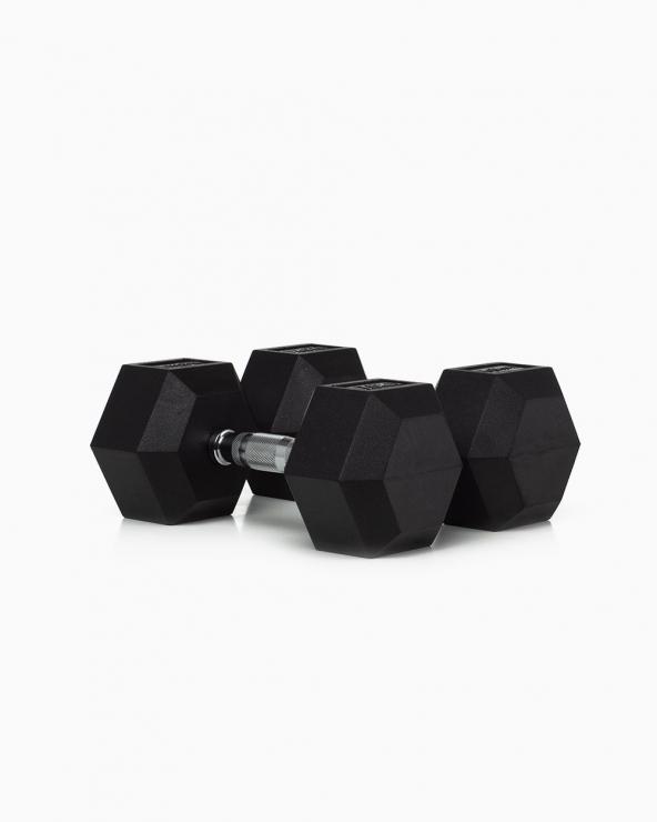 Hexagonal Dumbbells 12,5 Kg
