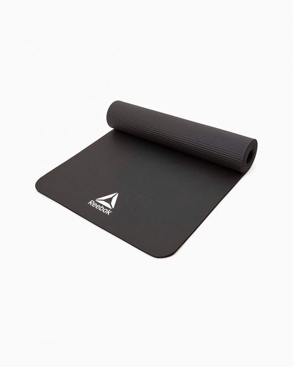 Reebok Black Fitness Mat - 7mm